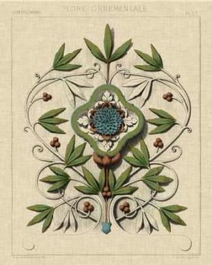 Decorative Flourish IV Digital Print by Vision Studio,Decorative