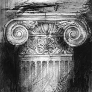 Column Study I Digital Print by Harper, Ethan,Impressionism