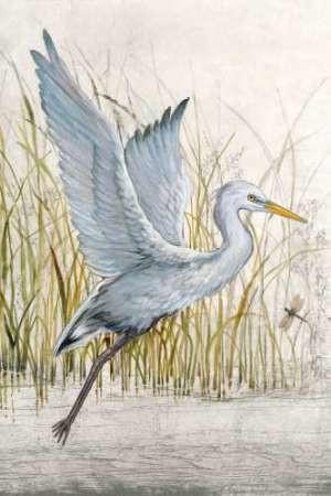 Heron Sanctuary I Digital Print by O'Toole, Tim,Impressionism