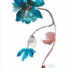 Floral Watercolor I Digital Print by Mosley, Kiana,Decorative
