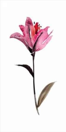 Floral Watercolor II Digital Print by Mosley, Kiana,Decorative