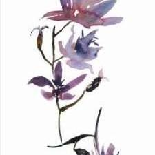 Floral Watercolor IV Digital Print by Mosley, Kiana,Decorative
