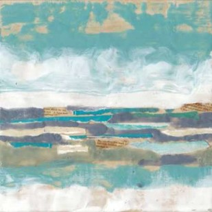 Letters From The Sea I Digital Print by Goldberger, Jennifer,Abstract