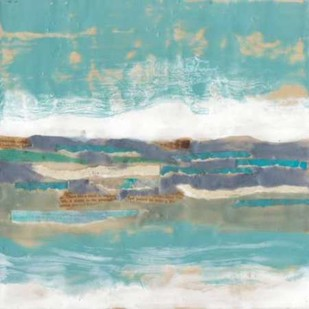 Letters From The Sea II Digital Print by Goldberger, Jennifer,Abstract