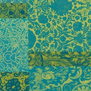 Pattern Mix I Digital Print by Vision Studio,Art Deco