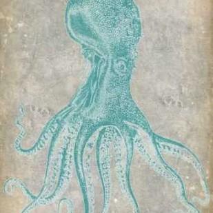 Spa Octopus II Digital Print by Goldberger, Jennifer,Decorative