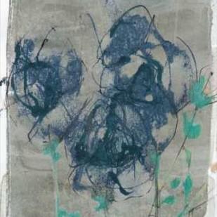 Floral Vignette I Digital Print by Goldberger, Jennifer,Impressionism