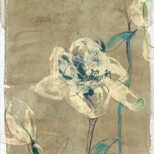 Floral Vignette II Digital Print by Goldberger, Jennifer,Impressionism