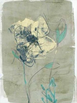Floral Vignette IV Digital Print by Goldberger, Jennifer,Decorative