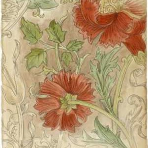 Floral Pattern Study II Digital Print by Harper, Ethan,Decorative