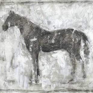 Equine Silhouette II Digital Print by Harper, Ethan,Impressionism
