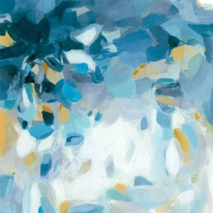 Summer Blues Digital Print by Long, Christina,Abstract