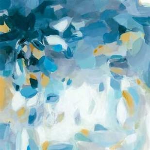 Summer Blues Digital Print by Long, Christina,Abstract
