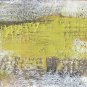 Yellow And Grey Serenity I Digital Print by Goldberger, Jennifer,Abstract