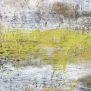 Yellow And Grey Serenity II Digital Print by Goldberger, Jennifer,Abstract