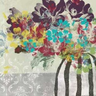 Spray of Flowers II Digital Print by Goldberger, Jennifer,Decorative