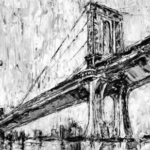 Iconic Suspension Bridge I Digital Print by Harper, Ethan,Impressionism