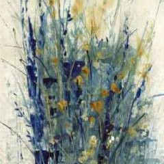 Indigo Floral II Digital Print by O'Toole, Tim,Impressionism
