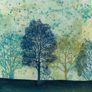 Speckled Forest I Digital Print by Meagher, Megan,Impressionism