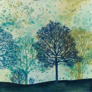 Speckled Forest II Digital Print by Meagher, Megan,Impressionism