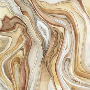 Watercolor Agate II Digital Print by Meagher, Megan,Abstract