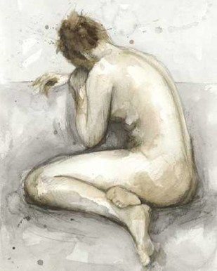 Figure in Watercolor II Digital Print by Meagher, Megan,Impressionism