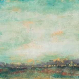 Treeline Sunrise II Digital Print by Goldberger, Jennifer,Abstract