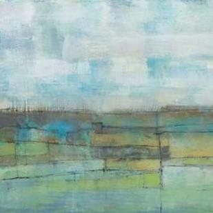 Tiered Farmland I Digital Print by Goldberger, Jennifer,Abstract