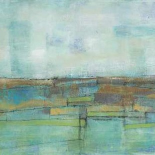 Tiered Farmland II Digital Print by Goldberger, Jennifer,Abstract