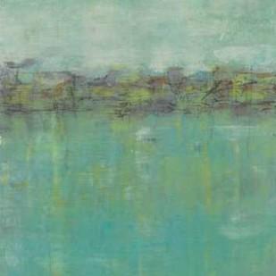 Horizon Line Abstraction II Digital Print by Goldberger, Jennifer,Abstract