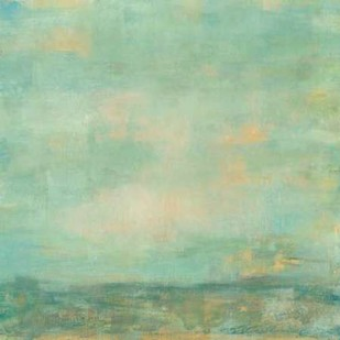 Mint Sky I Digital Print by Goldberger, Jennifer,Abstract