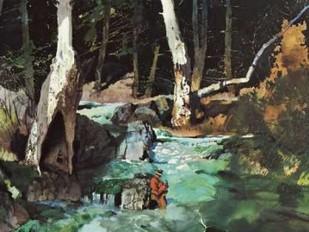 Fishing Retreat II Digital Print by Mason, Roy M.,Impressionism