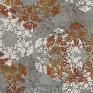 Rosette Profusion IV Digital Print by Goldberger, Jennifer,Decorative