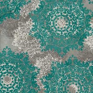 Rosette Profusion VI Digital Print by Goldberger, Jennifer,Decorative
