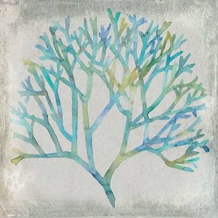 Watercolor Coral II Digital Print by Meagher, Megan,Decorative