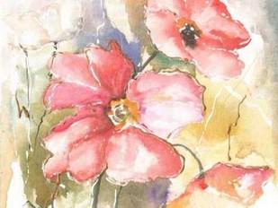 Soft Poppies I Digital Print by Herrera, Leticia,Impressionism
