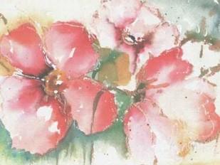 Soft Poppies II Digital Print by Herrera, Leticia,Impressionism