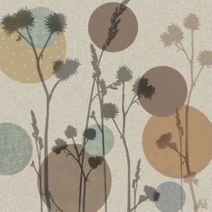 Polka-Dot Wildflowers I Digital Print by Reynolds, Jade,Decorative