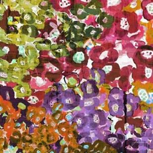 Floral Barrage II Digital Print by Burghardt, James,Impressionism