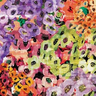Floral Barrage III Digital Print by Burghardt, James,Impressionism