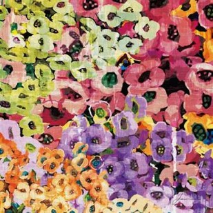 Floral Barrage IV Digital Print by Burghardt, James,Impressionism