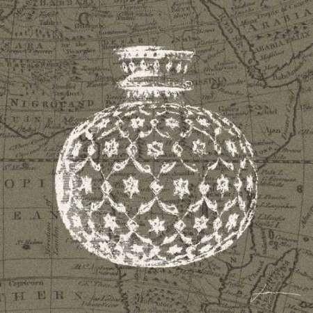 Map Bottles I Digital Print by Burghardt, James,Decorative