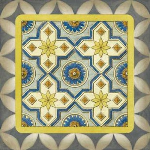 Classic Tile I Digital Print by Vision Studio,Decorative