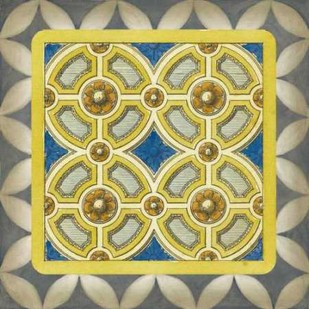Classic Tile II Digital Print by Vision Studio,Abstract