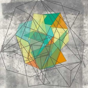 Geomolecule II Digital Print by Goldberger, Jennifer,Decorative