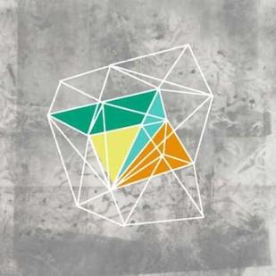 Geomolecule III Digital Print by Goldberger, Jennifer,Decorative
