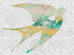 Patterned Bird II Digital Print by Goldberger, Jennifer,Decorative