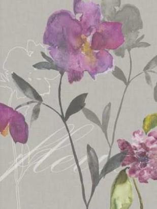 Violette Fleur I Digital Print by Mosley, Kiana,Impressionism