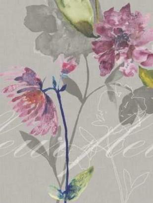 Violette Fleur II Digital Print by Mosley, Kiana,Impressionism