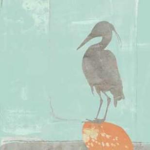Heron Collage I Digital Print by Goldberger, Jennifer,Impressionism
